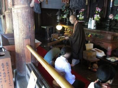 【JAF兵庫】刀田山 鶴林寺 国宝・本堂での座禅体験 写経体験