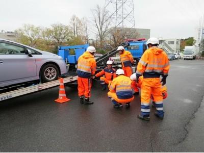【JAF関東】事故車等の排除業務に係る有償運送許可のための研修を実施