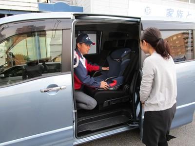 【JAF島根】マンツーマン「チャイルドシート取付けチェック」を開催します!