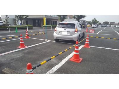 【JAF栃木】マンツーマン車庫入れ講習会を開催!