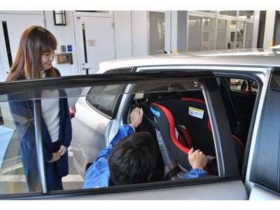 【JAF静岡】「マンツーマン車庫入れセミナー」「チャイルドシート取り付け状態チェック」を同時開催!