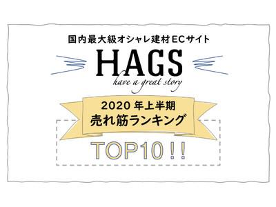 国内最大級オシャレ建材ECサイト「HAGS-ハグス‐」2020年上半期売れ筋ランキングTOP10発表!1位は「鉄の素材感を感じられるシンプルなタオルハンガー」