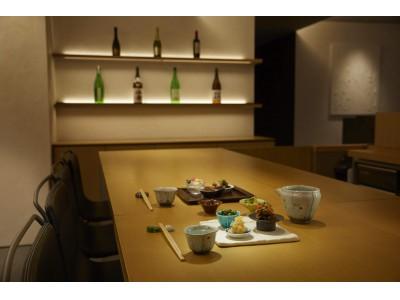 日本酒通になるバー、「Sake- Bar 『TABLE  TSUKI』」築地にオープン
