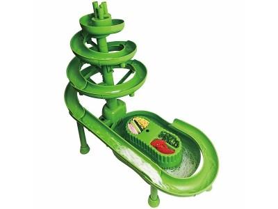家族・友達と楽しめるウォータースライダータイプの流しそうめん器「ROOMMATE ビックスライダーそうめん流しDX RM-81H」を発売