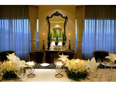 長崎・宝町「ベストウェスタンプレミアホテル長崎」にて、一日一組限定 予約が入ったときにだけオープンするアニバーサリーレストラン誕生