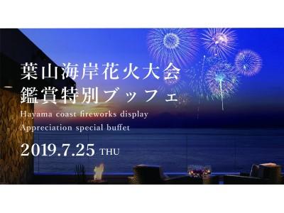 葉山海岸花火大会を夏素材の特別メニューと共に楽しむ