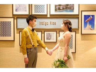 """11月22日(いい夫婦の日)に開始、リアルと変わらず二人と大切な人の絆をつなぐ""""ON-LINE WEDDING""""プランリリース"""