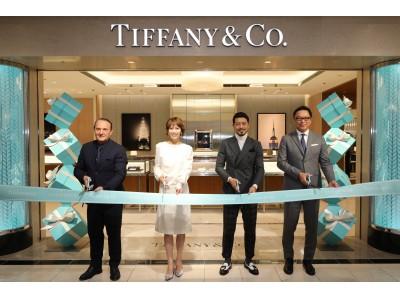 「ティファニー浦和伊勢丹店」オープンを祝し、テープカットセレモニーを開催