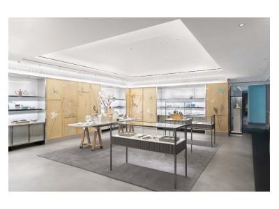 ティファニーが、ニューヨーク本店の全面リニューアルに伴う、2年間限定のフラッグシップストア「ザ・ティファニー・フラッグシップ・ネクストドア」をオープン。