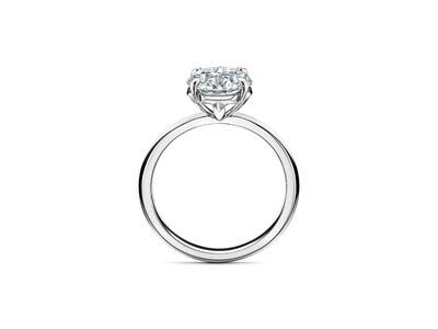 ティファニーから、ラウンド ブリリアント ダイヤモンドが輝く新作エンゲージメントリング「ティファニー トゥルー ラウンド」が6月より日本先行で発売
