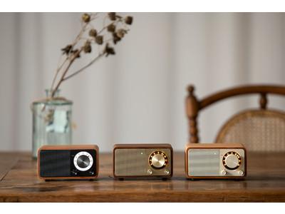 Sangean WR-301 FMラジオ・Bluetoothスピーカーに新色チェリー/ダークグレーが新しくラインナップに追加