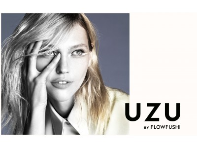 FLOWFUSHI 新ブランドは「UZU」。1st コレクション「EYE OPENING LINER」が3月14日、デビュー。