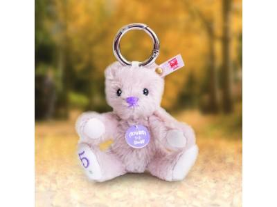 Keyring teddy bear AOYAMA