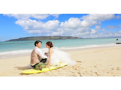 【Sun BLUE沖縄】人気オプション「プレミアムスライドショー」半額キャンペーン!思い出のウェディングフォトを素敵なスライドショーに残そう♪