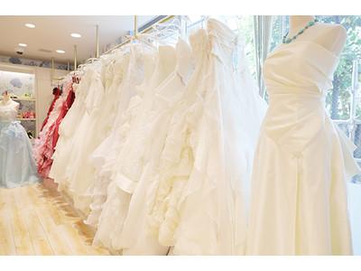 【プルメリアフォトスタジオ 】ウェディングドレスが新しく増えました!白もカラーも多く取り揃えております!
