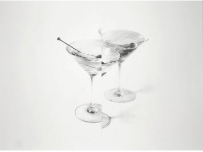 OIL by 美術手帖ギャラリーで、アーティストによる特別なカクテルと作品を楽しむ。「疾駆, the Yutaka Kikutake Gallery magazine」による期間限定イベントを開催。