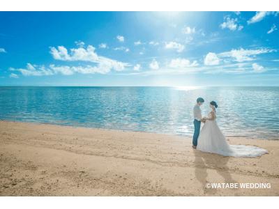 """8月1日は""""リゾ婚の日""""「リゾ婚2019トレンド」発表衣裳はさらにフォトジェニックさを求める傾向に!ウェディングフォトはこだわりを叶えるフォトグラファー指名サービスが人気"""