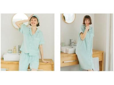 ジーユーから、ミント成分入り機能性パジャマを5月25日(月)に発売