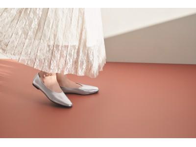 - 軽さと歩きやすさを兼ね備えた新感覚のフラットシューズ -「シフォンフラットシューズ」が新登場
