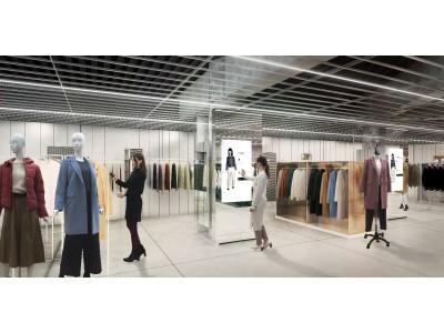 ジーユーの次世代型店舗、GU STYLE STUDIO   2018年11月30日(金)オープンGU STYLE STUDIO専用のデジタルサイネージとアプリで新しいファッション体験をご提供