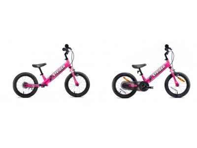 着脱式ペダルで簡単に自転車に乗れるようになる!!「STRIDER 14x」に新色「Fuchsia Pink(フューシャピンク)」が登場!5月下旬より順次発売