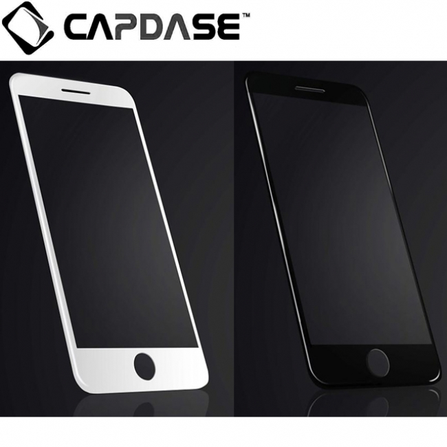 iPhone7用 前面を全て覆うガラスフィルム「CAPDASE 3D Hybrid Glass Glass 3Dハイブリッド ガラス」2色を新発売