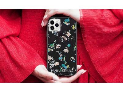 セレブたちを魅了し続けるNYファッションブランド PRABAL GURUNG (プラバルグルン)と Case-Mate のブランドコラボ アクセサリーが登場!