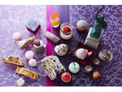 【セント レジス ホテル 大阪のクリスマス2018】日本庭園のイルミネーション、アートなクリスマスケーキ、冬のNYがテーマのデザートブッフェなど