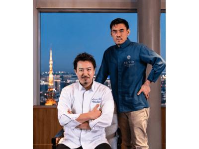 【ザ・リッツ・カールトン東京】2人のミシュランシェフによるフォー・ハンズ・コラボレーション