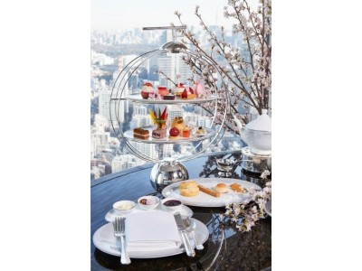 【ザ・リッツ・カールトン東京】桜の開花と共に、春の訪れを五感で味わう期間限定の「桜」メニューを販売開始