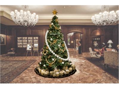 【ザ・リッツ・カールトン大阪】11月8日(金)より、クリスマスプロモーションを開始 ~国内トップジュエラーとのコラボレーションツリーやミシュラン一つ星フレンチの料理をお部屋で愉しめる宿泊プランも~