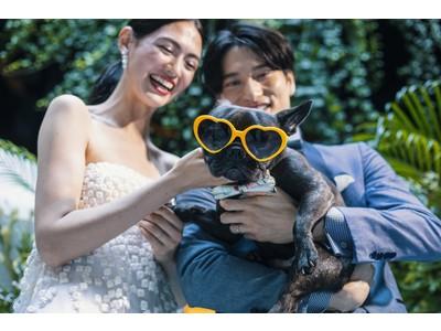【W大阪】愛犬も一緒に参加できるウェディングプランが誕生 W大阪はP.A.W.(Pets Are Welcome)!