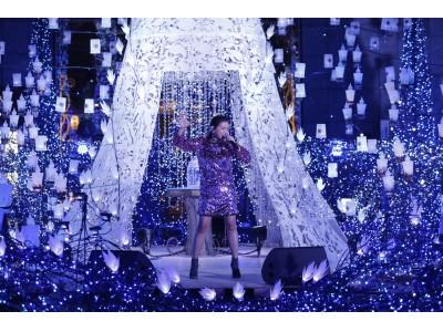 「Caretta Illumination 2018 ~ディズニーMovieNEX プリンセスイルミネーション~」点灯式を開催