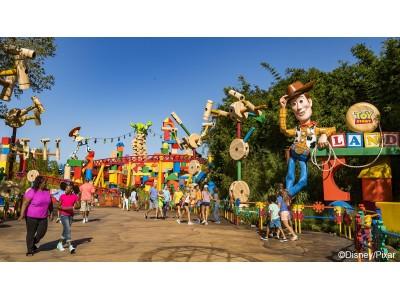 フロリダ ウォルト・ディズニー・ワールド・リゾート『トイ・ストーリー』の世界を再現した「トイ・ストーリーランド」がオープン!