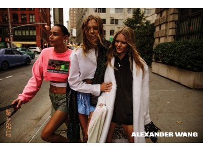 「ALEXANDER WANG (アレキサンダー・ワン)」ポップアップストアを集英社『 mirabell...