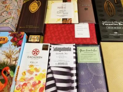 日本初。世界のビーントゥーバーチョコレートが「シャポン自由が丘店」に勢揃い。【シャポンのおすすめビーントゥーバーセレクション】が10月21日(土)からスタート。
