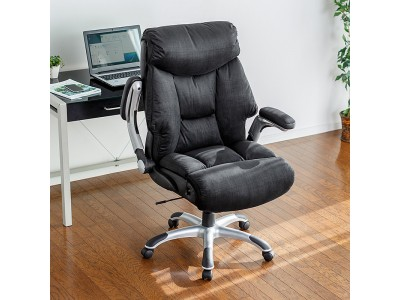まるでソファのような座り心地の肘跳ね上げ式リクライニングチェアを3月27日発売
