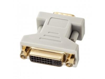 DVIアダプタ(DVI-VGA変換/DVI-DVI変換)2種を発売。