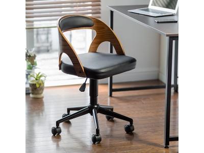 オフィスにデザイン性と高級感をプラスする、曲げ木仕様のオフィスチェアを8月20日発売