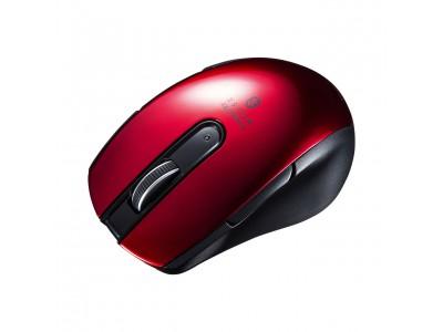 左右にサイドボタンを備えた、左右対称の5ボタンマウス3シリーズを発売。