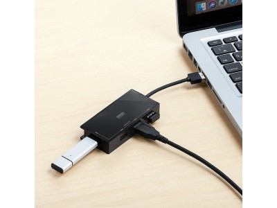 USB Aポートを増設できるUSB A、Type-C接続のUSBハブを12月16日発売