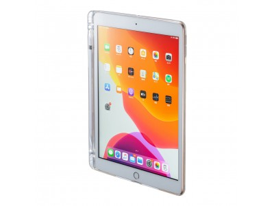 iPad 10.2インチ専用耐衝撃・防水防塵ケースとApple Pencilポケット付きクリアカバーを発売。