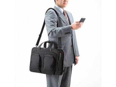 多機能で高級感のある、ハイエンドモデルのビジネスバッグとビジネスリュックを発売。