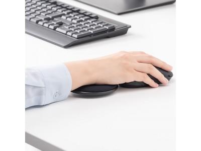 テレワークに最適!在宅ワークでマウス操作時のお悩み等を解消できる卓上リストレストを5月28日発売