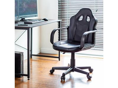 コンパクトなミドルバック、メッシュ&PVCレザーで快適な座り心地のゲーミングチェアを8月12日発売