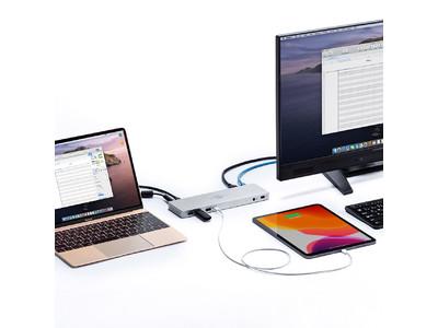 USB Type-Cケーブル1本で周辺機器を一括接続できるドッキングステーションを発売