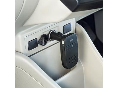 車のエンジンに連動して電源がON・OFFになるハンズフリーカーキットを発売