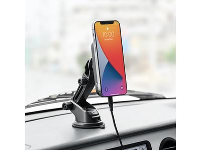 充電もできるMagSafe対応の車載用充電ホルダー2種を6月18日発売
