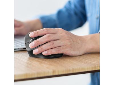 手首に優しい、左手用のエルゴノミクスマウスを9月22日発売