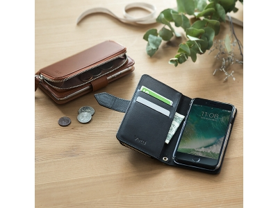 ケースと財布、これひとつで。iPhone 7/7 Plus手帳型本革ケースを1月16日発売